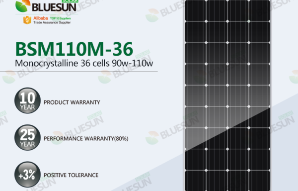 125mm Mono Solar Panel 36 Cells Series